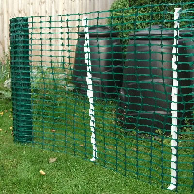 Pvc Mesh Green Barrier Fence Green Plastic Mesh By The